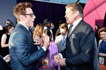 """David Hasselhoff Premiere Of Disney And Marvel's """"Guardians Of The Galaxy Vol. 2"""" - Red Carpet"""