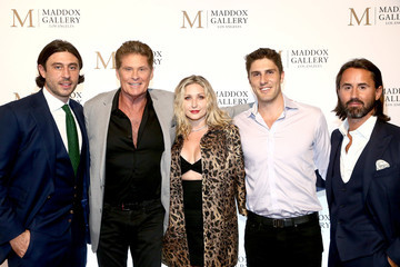 David Hasselhoff Grand Opening Maddox Gallery Los Angeles