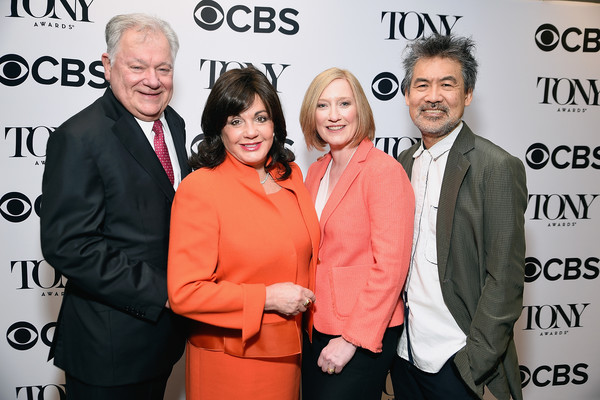 2017 Tony Awards Nominations Announcement [event,premiere,white-collar worker,award,robert e. wankel,chairman,president,heather hitchens,tony awards,l-r,american theatre wing,the broadway league,the broadway league charlotte st. martin,nominations announcement]