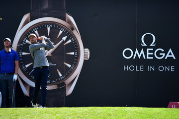 David Howell Omega European Masters - Day Two