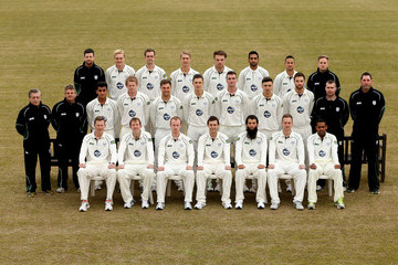 David Lucas Worcestershire CCC Photocall