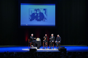 David Lynch In Conversation Panel With Ringo Starr, David Lynch and Henry Diltz