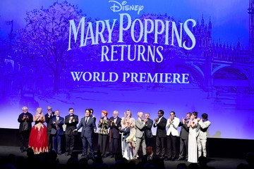 David Magee Disney's 'Mary Poppins Returns' World Premiere