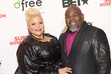 David Mann BET Presents Super Bowl Gospel Celebration - Red Carpet