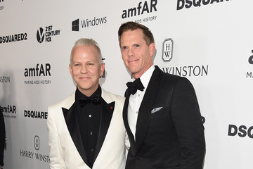 Ryan Murphy with husband David Miller