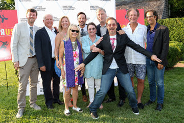 David Nugent Anne Chaisson The Hamptons International Film Festival SummerDocs Series Screening of 'ICARUS'