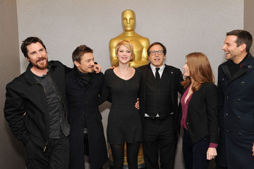 """David O. Russell Jennifer Lawrence The Academy Of Motion Picture Arts And Sciences Hosts An Official Academy Members Screening Of """"American Hustle"""""""