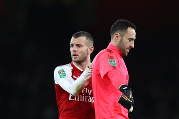 David Ospina Arsenal v Chelsea - Carabao Cup Semi-Final: Second Leg
