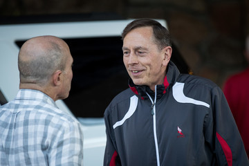 David Petraeus Tech and Media Elites Attend Allen and Company Annual Meetings in Idaho