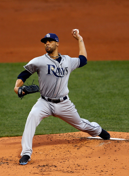 David Price - Division Series - Tampa Bay Rays v Boston Red Sox - Game Two