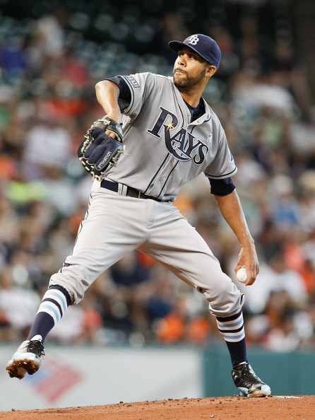 David Price - Tampa Bay Rays v Houston Astros