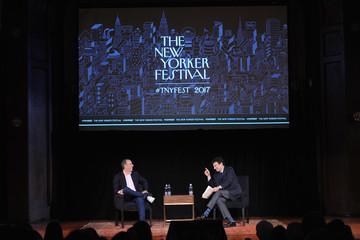 David Remnick The 2017 New Yorker Festival - Jerry Seinfeld Talks With The New Yorker's David Remnick