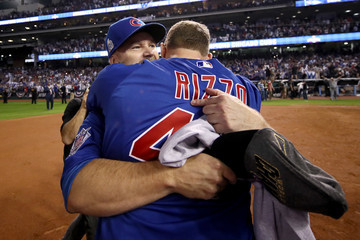 David Ross World Series - Chicago Cubs v Cleveland Indians - Game Seven
