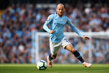 David Silva Manchester City vs. Brighton & Hove Albion - Premier League