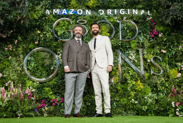 European Best Pictures Of The Day - May 29, 2019 [best pictures of the day,garden,lawn,botany,botanical garden,spring,fun,plant,grass,tree,ceremony,david tennant,michael sheen,amazon original ``good omens,european,odeon luxe leicester square,england,london,l,premiere]