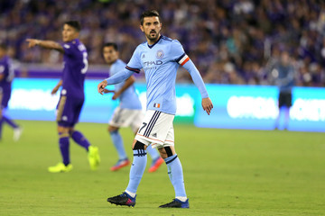 David Villa New York City FC v Orlando City SC