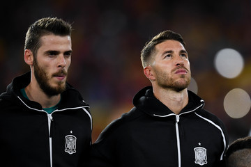David de Gea Spain vs. England - UEFA Nations League A