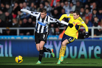 Davide Santon Newcastle United v Sunderland - Premier League