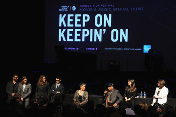 """Davis Coombe Alan Hicks """"Keep On Keepin' On"""" World Premiere With Quincy Jones At The Tribeca Film Festival Exclusively For American Express Card Members"""
