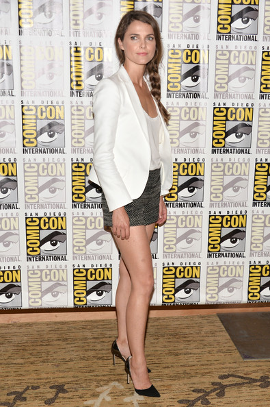 Actress Keri Russell attends day 3 of the WIRED Cafe at Comic-Con on July 20, 2013 in San Diego, California.