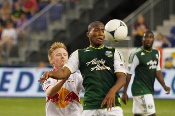 Dax McCarty Portland Timbers v New York Red Bulls