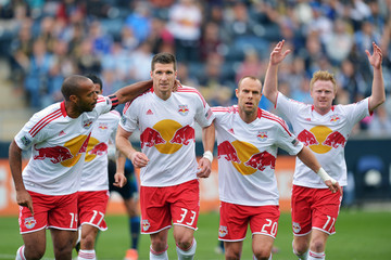 Dax McCarty New York Red Bulls v Philadelphia Union