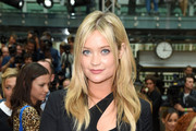 Laura Whitmore  attends the Julien Macdonald show during London Fashion Week Spring Summer 2015 at Somerset House on September 13, 2014 in London, England.