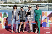 (L-R) Actresses Belen Cuesta, Macarena Garcia, Amaia Salamanca and Blanca Suarez attend 'A Pesar de Todo' photocall dureing the 22th Malaga Film Festival on March 16, 2019 in Malaga, Spain.