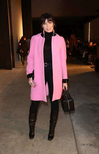 7ae9d95926 Day 4 - Front Row - LFW FW15. Day 4 - Front Row - LFW FW15. In This Photo  Daisy  Lowe. Daisy Lowe attends the Christopher Kane show during London Fashion ...