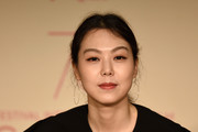 "Actress Kim Min Hee attends the ""The Day After (Geu Hu)"" press conference during the 70th annual Cannes Film Festival on May 22, 2017 in Cannes, France."