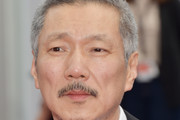 """Director Hong Sang-soo attends the """"The Day After (Geu Hu)"""" screening during the 70th annual Cannes Film Festival at Palais des Festivals on May 22, 2017 in Cannes, France."""