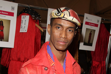 Eric Raisina This Day/Arise: African Fashion Collective - Backstage - Spring 2010 MBFW