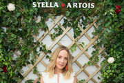 Stella Artois hosts Joanne Froggatt at The Championships, Wimbledon as the Official Beer of the tournament at Wimbledon on July 3, 2018 in London, England.