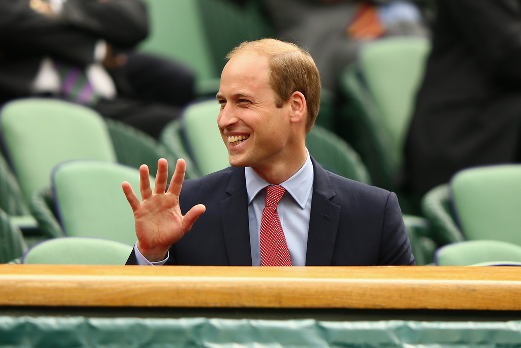 Prince William in The Championships - Wimbledon 2011: Day