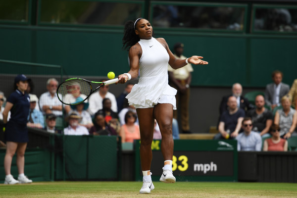 Serena Williams Overcomes A First Set Blip To Reach The Last Eight At Wimbledon