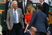 Entrepreneur Richard Branson attends the Royal Box during Day Ten of The Championships - Wimbledon 2019 at All England Lawn Tennis and Croquet Club on July 11, 2019 in London, England.