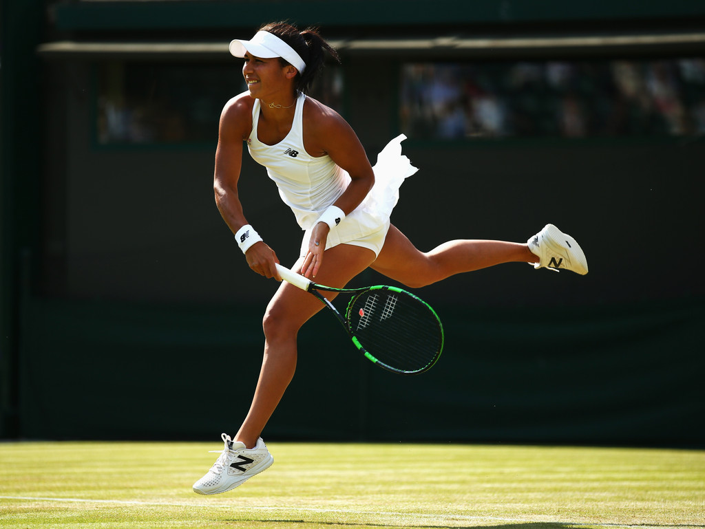 Day Three: The Championships - Wimbledon 2015(Heather Watson)