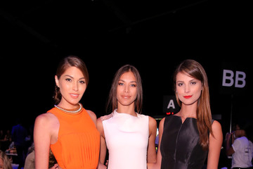 Dayana Mendoza Angel Sanchez - Front Row - Mercedes-Benz Fashion Week Spring 2015