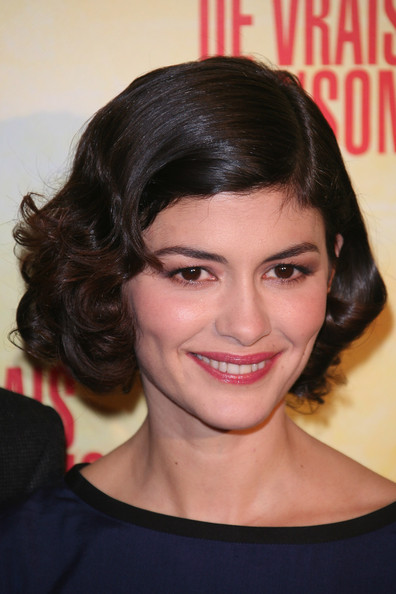 Audrey Tautou attends 'De Vrais Mensonges' Paris premiere at Cinema Gaumont Opera on November 29, 2010 in Paris, France.