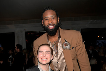 DeAndre Jordan The 2018 InStyle and Warner Bros. 74th Annual Golden Globe Awards Post-Party - Inside