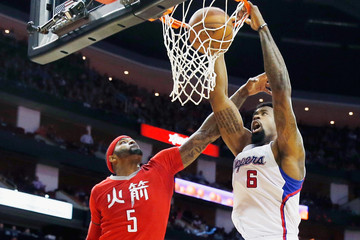 DeAndre Jordan Los Angeles Clippers v Houston Rockets