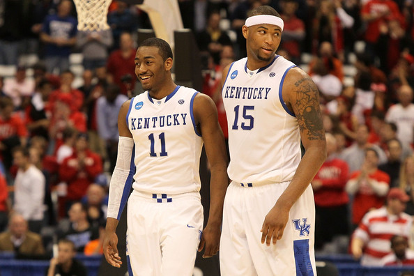 Photo of DeMarcus Cousins & his friend basketball player  John Wall -