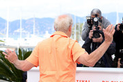 "Bill Murray attends the photocall for ""The Dead Don't Die"" during the 72nd annual Cannes Film Festival on May 15, 2019 in Cannes, France."