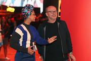Alicia Keys and Paul Haggis attend Bacardi X The Dean Collection Present: No Commission on June 30, 2017 in Berlin, Germany.