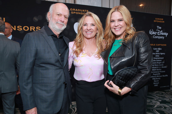 GLSEN Respect Awards Los Angeles - Cocktails [green,event,yellow,fashion,premiere,fashion accessory,glsen respect awards,cocktails,l-r,los angeles,california,beverly hills,beverly wilshire four seasons hotel,debbie burrows,jim burrows,mary mccormack]