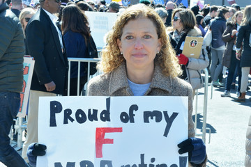 Debbie Wasserman Schultz Celebrities Attend The March For Our Lives Rally In Washington, DC
