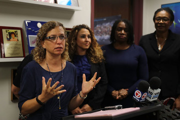 Debbie Wasserman Schultz Rep. Debbie Wasserman Schultz (D-FL) Hosts Immigration Roundtable in Sunrise, Florida