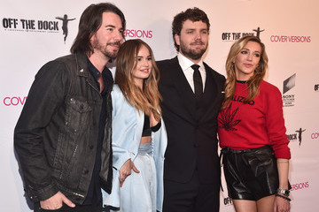 Debby Ryan Premiere Of Sony Pictures Home Entertainment And Off The Dock's 'Cover Versions' - Red Carpet