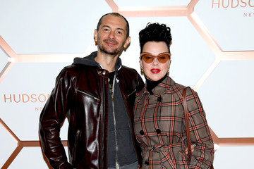 Debi Mazar Gabriele Corcos Hudson Yards, New York's Newest Neighborhood, Official Opening Event