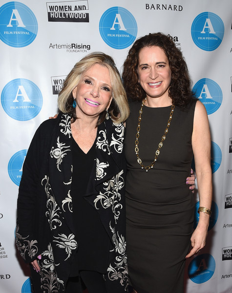 5th Annual Athena Film Festival Ceremony & Reception [event,little black dress,style,award,fashion design,debora spar,president,sheila nevins,l-r,the presidents visionary award,new york city,barnard,hbo documentary films,athena film festival ceremony reception,athena award winner]